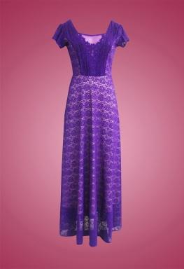 Đầm ren cổ điển