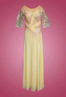 Đầm dạ hội tay lở